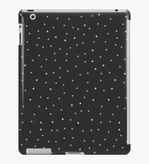 Random Dots on Black iPad Case/Skin