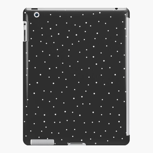 Random Dots on Black iPad Snap Case
