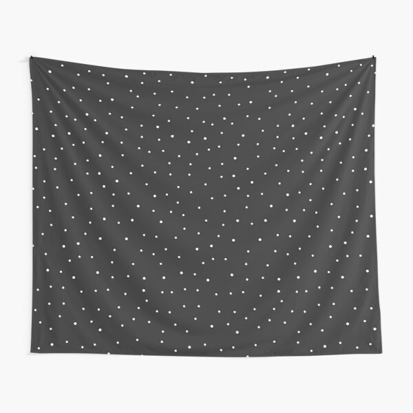 Random Dots on Black Tapestry