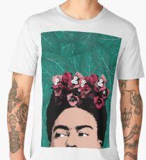 Frida Kahlo Portrait Men's Premium T-Shirt