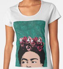Frida Kahlo Portrait Women's Premium T-Shirt