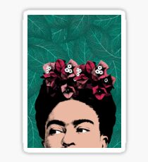 Frida Kahlo Portrait Sticker