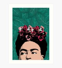 Frida Kahlo Portrait Art Print