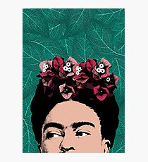Frida Kahlo Portrait Photographic Print