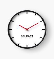 Belfast, United Kingdom Clock