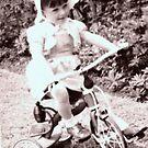 Santa brought me this tricycle... by karenlynda