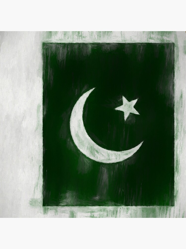 Pakistani Flag No. 2, Series 2 by 8th-and-f