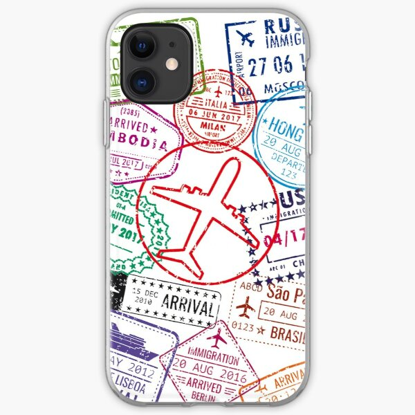 travel iPhone Soft Case
