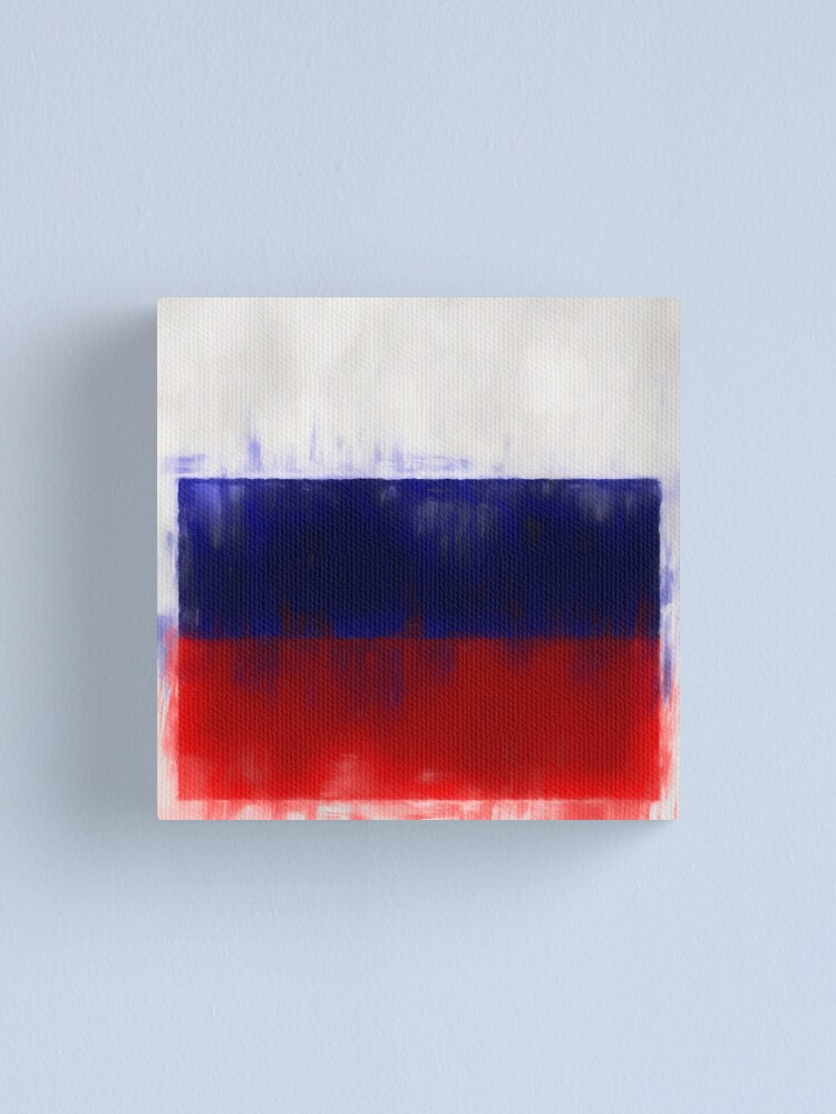 Alternate view of Russian Flag No. 2, Series 1 Canvas Print