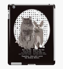 Party Cat & Scaredy Cat iPad Case/Skin