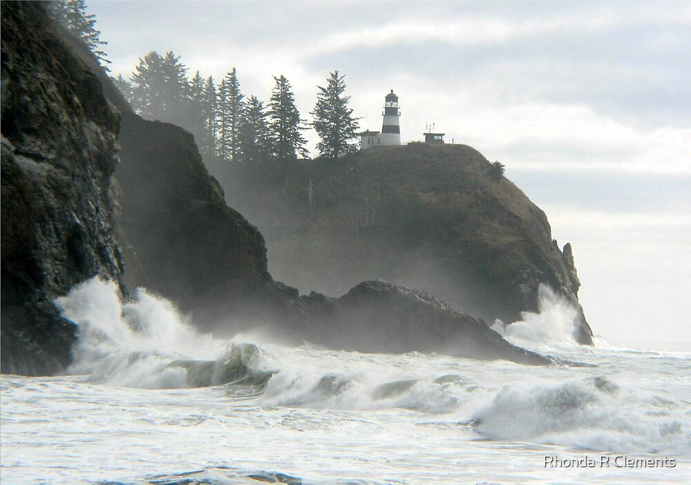 Cape Disappointment Lighthouse, Illwaco, WA by Rhonda R Clements