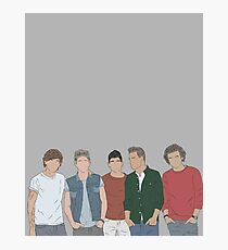 One direction drawing Photographic Print