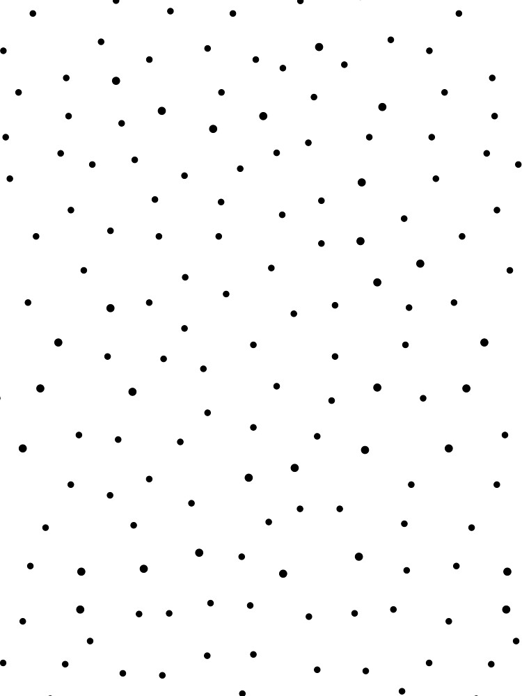Random Dots on White by MissTiina