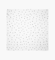 Random Dots on White Scarf