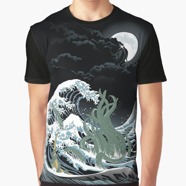The Wave Off  R'lyeh  Graphic T-Shirt