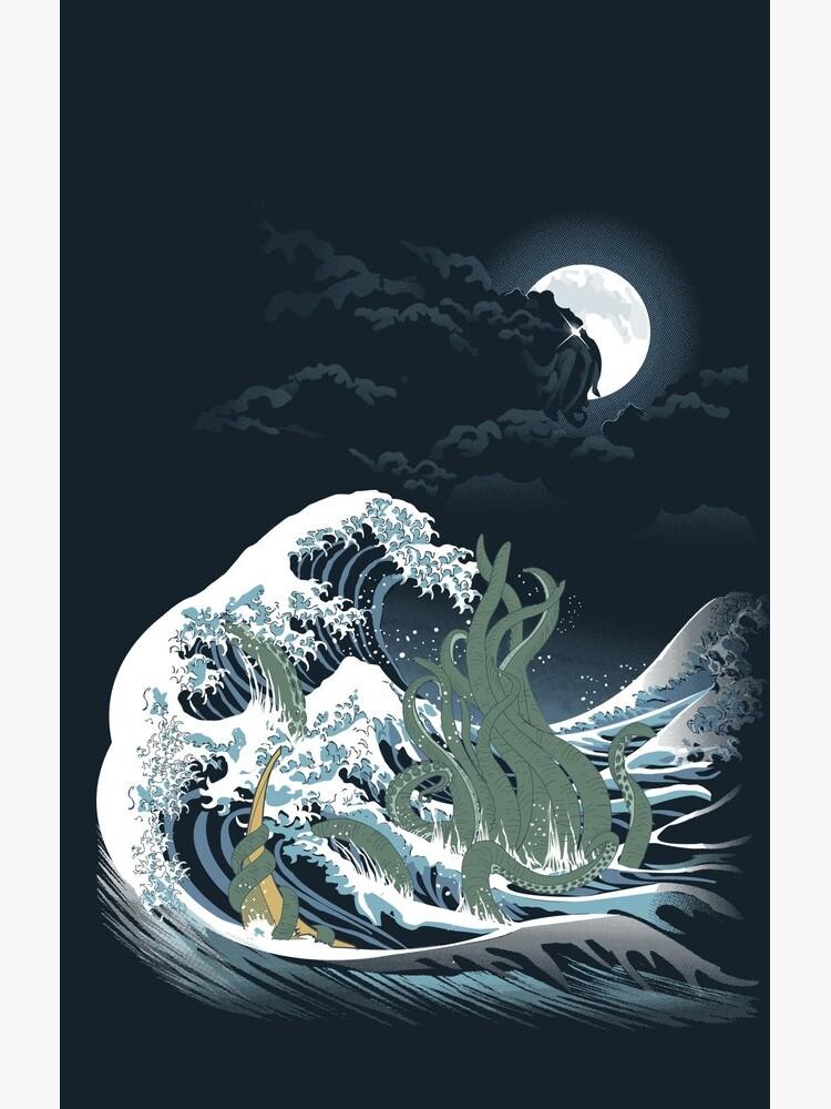 The Wave Off  R'lyeh  by SamielLair