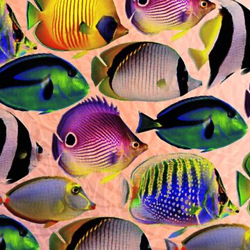 Undersea LivIng Colors by Pacoredbubble