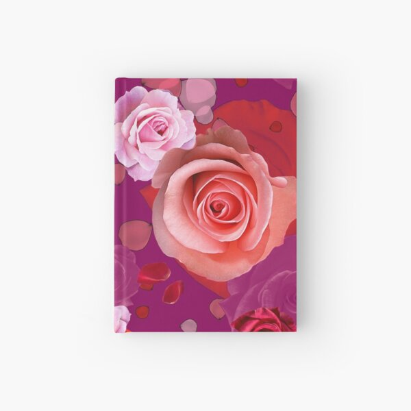 A Rose is a Rose Hardcover Journal
