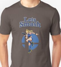 Zero Suit Samus Smash Bros Unisex T-Shirt