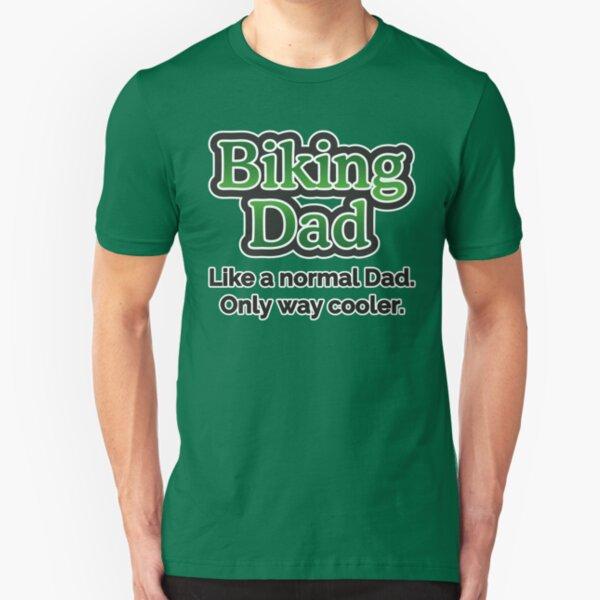 Biking Dad Slim Fit T-Shirt