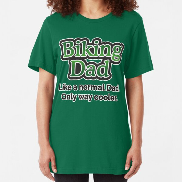 Biking Dad Slim Fit T-Shirt