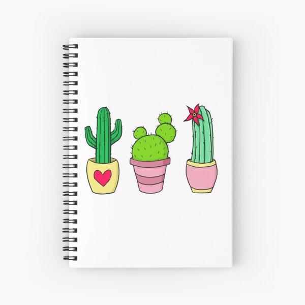 Cute Cacti Spiral Notebook