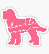 Doodle Mom Sticker