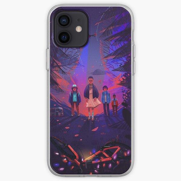 Stranger Things Design iPhone Soft Case