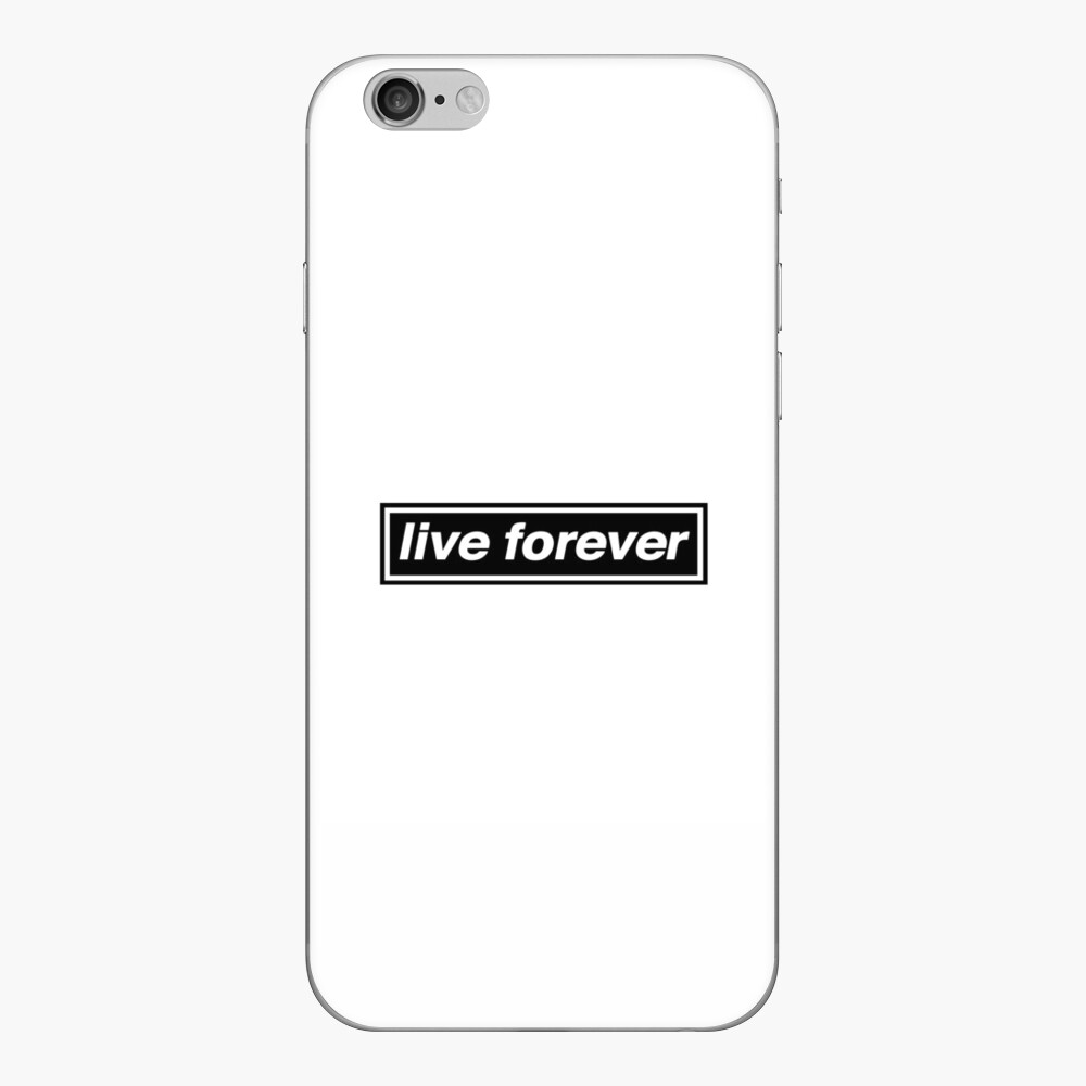 Live Forever - OASIS Band Tribut iPhone Klebefolie