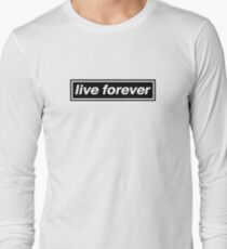 Live Forever - OASIS T-Shirt
