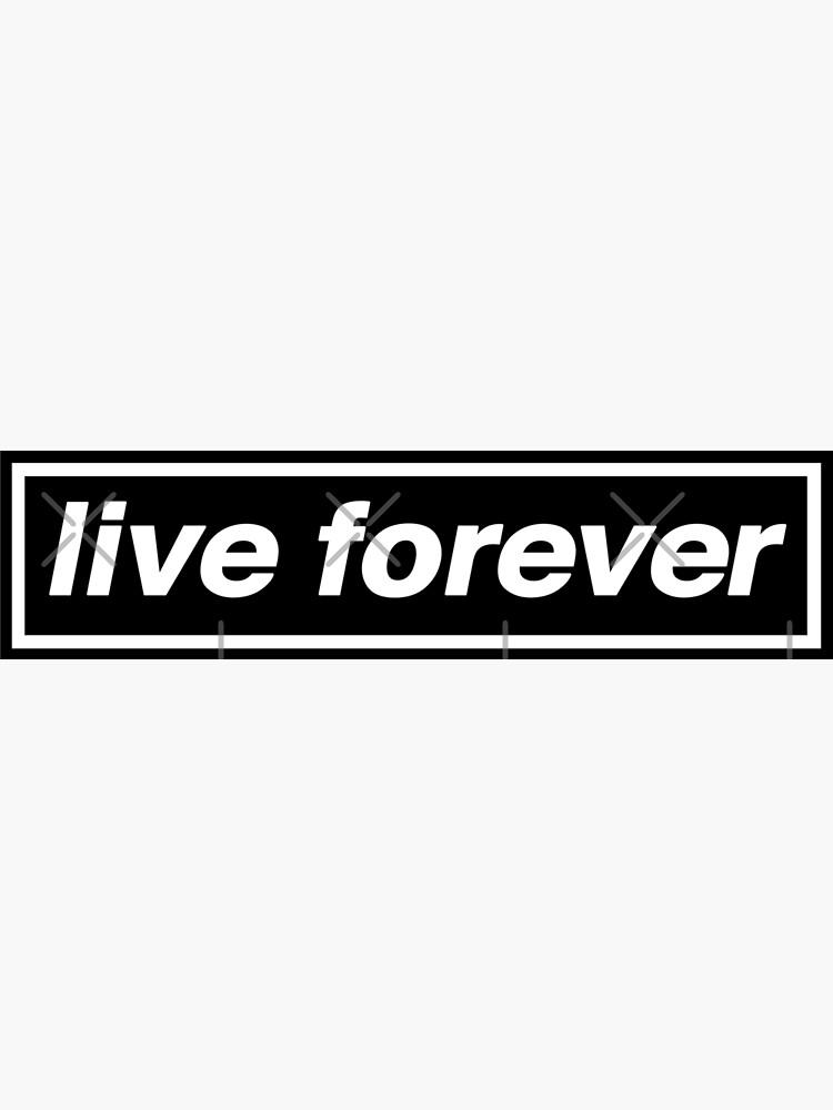 Live Forever - Tributo de la banda OASIS de phigment-art