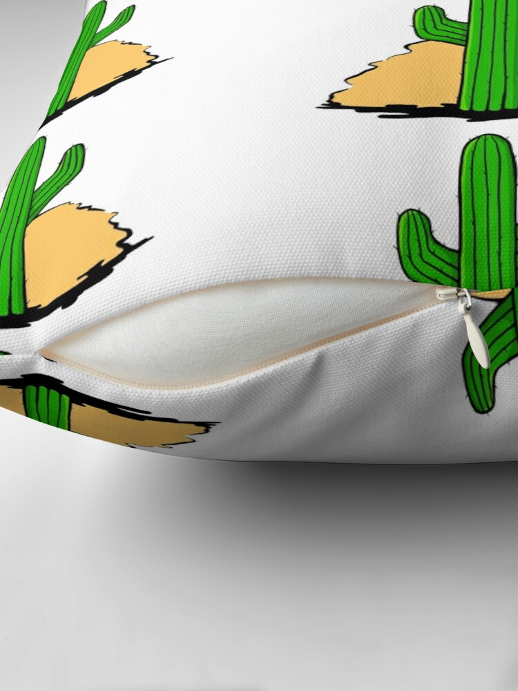 Alternate view of Sunset Cactus Floor Pillow