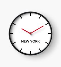 New York, United States; State of New York Clock