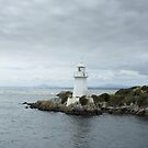 Lighthouse at Hells Gate by Caro