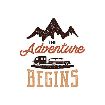 The Adventure Begins Emblem / Label by JeksonJS