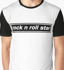 Rock n Roll Star - OASIS Graphic T-Shirt