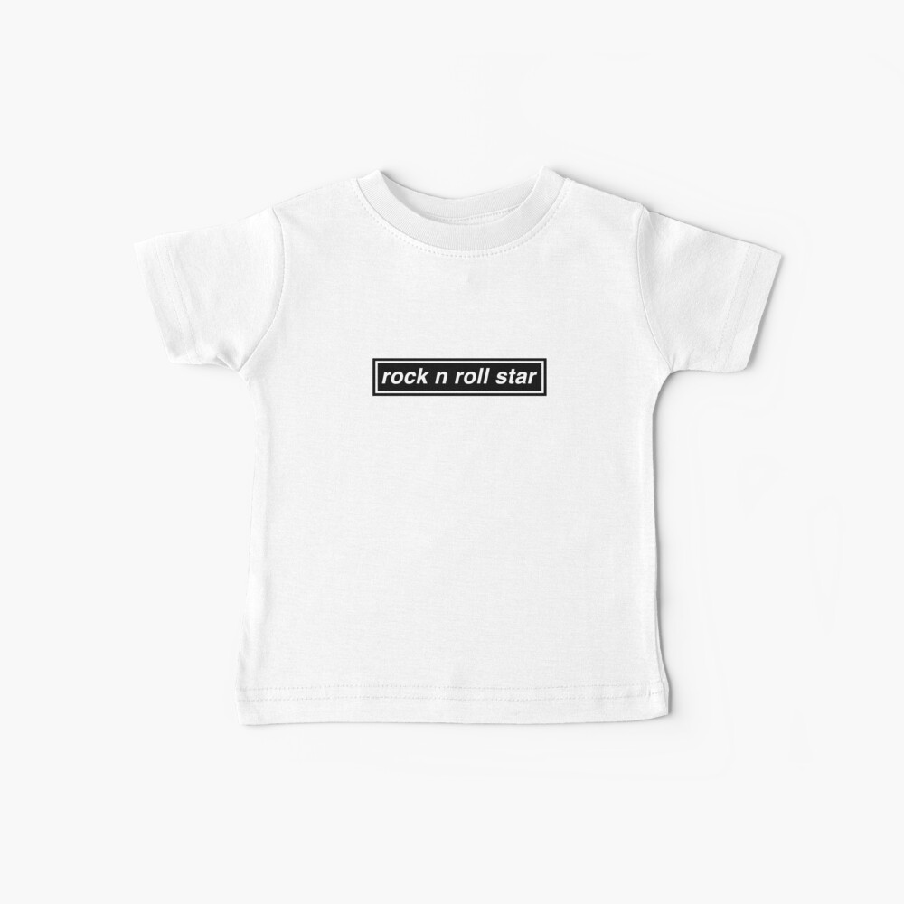 Rock n Roll Star - OASIS Band Tribut Baby T-Shirt