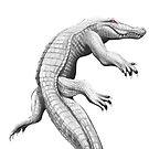 Albino Alligator by ChelseaPray