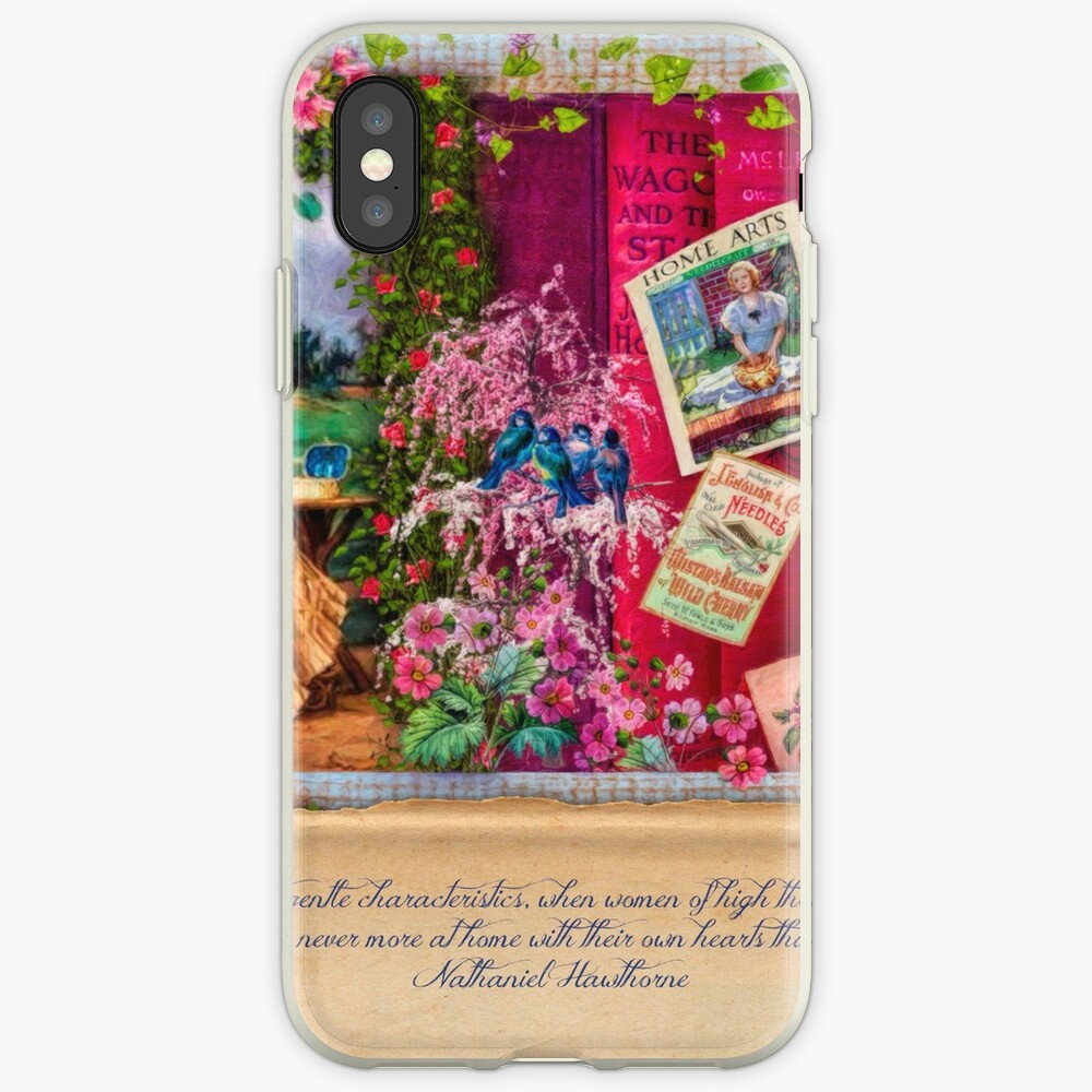 A Stitch In Time April iPhone Cases & Covers