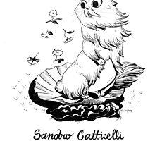 #meowdernart - Sandro Catticelli by mariapaizart