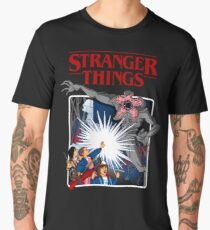 Stranger Things Animated Series Men's Premium T-Shirt