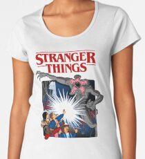 Stranger Things Animated Series Women's Premium T-Shirt