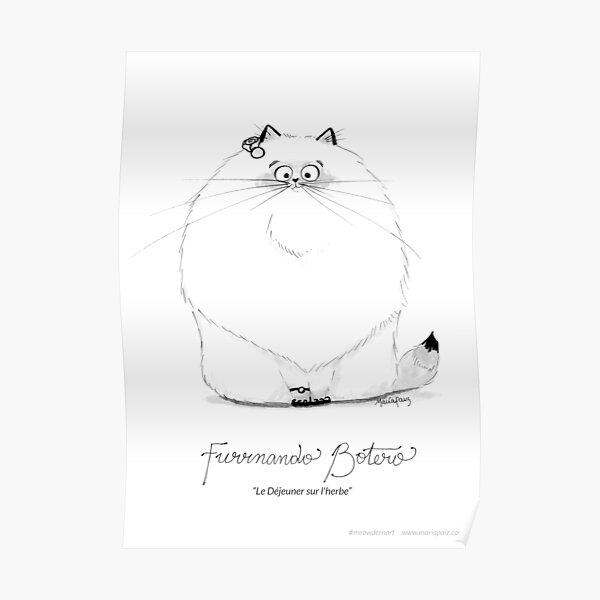 #meowdernart - Furrnando Botero Poster