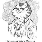 #meowdernart - Vincent Van Meow by mariapaizart