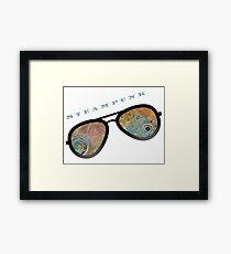 STEAMPUNK SUNGLASSES  Framed Print