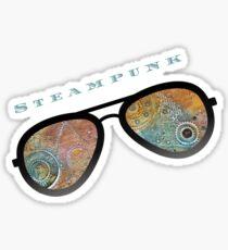 STEAMPUNK SUNGLASSES  Sticker