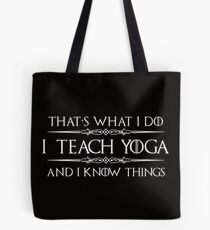 Yoga Teacher Instructor Gifts Tote Bag