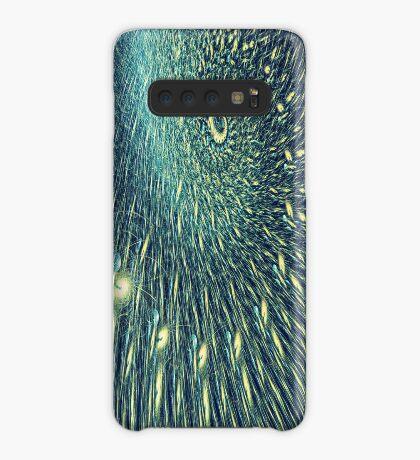 Fractal rain Case/Skin for Samsung Galaxy