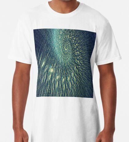 Fractal rain Long T-Shirt