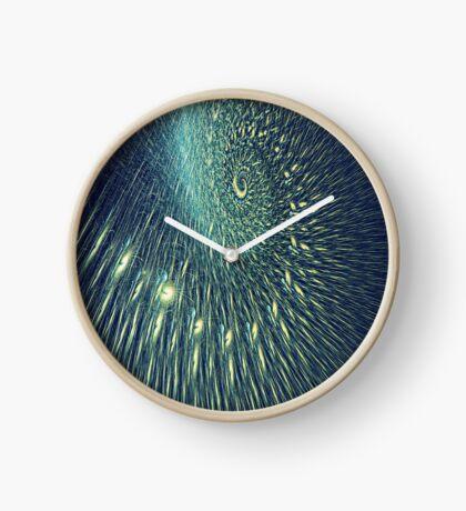 Fractal rain Clock